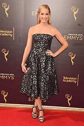 Joanne Froggatt bei der Ankunft zur Verleihung der Creative Arts Emmy Awards in Los Angeles / 110916 <br /> <br /> *** Arrivals at the Creative Arts Emmy Awards in Los Angeles, September 11, 2016 ***