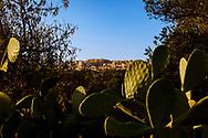 17-10-2015 -  Foto: Uitzicht op Agrigento. Genomen tijdens een persreis rond de Rocco Forte Invitational in Agrigento, Italië.