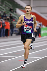 New Balance Indoor Grand Prix<br /> Staten Island, New York, February 13, 2021<br /> Sam Tanner, New Zealand, runner at Univeristy of Washington, takes 3rd in 1500m in 3:34.72, sets new national record and new collegiate record