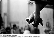 Cindy Adams feet.New York © Copyright Photograph by Dafydd Jones<br />66 Stockwell Park Rd. London SW9 0DA<br />Tel 0171 733 01081993. film93314