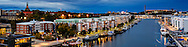 Hammarby Canal in Stockholm, Sweden<br />