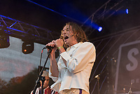 Sports Team live at the Bigfoot Festival Ragley Hall Warwickshire one of the first festivals to open successfully in 2021 photo by Mark anton Smith