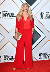 Rebecca Adlington during the red carpet arrivals for the BBC Sports Personality of the Year 2018 at The Vox at Resorts World Birmingham.