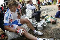 Wevelgem -  Belgie - wielrennen - cycling - radsport - Gent - Wevelgem - Protour - Aart Vierhouten (Ned-Skil - Shimano)