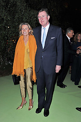 BERTIE & SUSANNA WAY at a dinner hosted by Cartier in celebration of the Chelsea Flower Show held at Battersea Power Station, 188 Kirtling Street, London SW8 on 23rd May 2011.