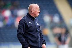 Falkirk's manager Peter Houston. <br /> Falkirk 1 v 0 Morton, Scottish Championship game  played 1/5/2016 at The Falkirk Stadium.
