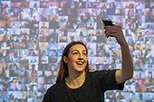 Saatchi Selfie Huawei Exhibition