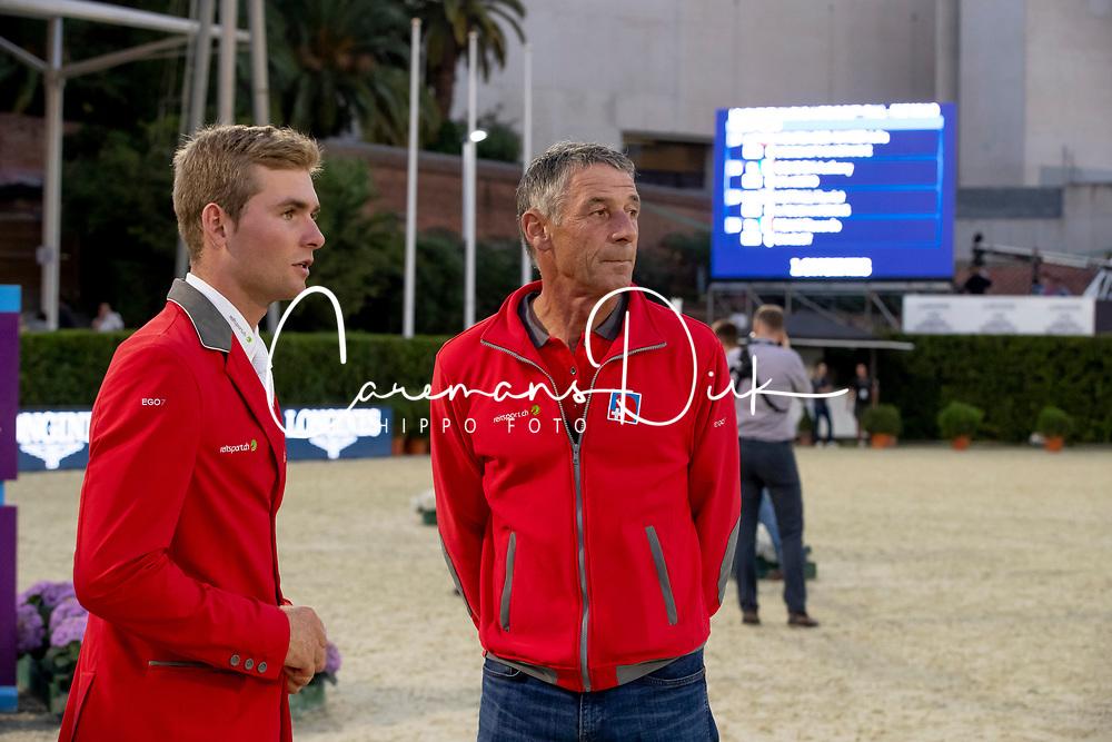 Balsinger Bryan, Estermann Paul, SUI<br /> Longines FEI Jumping Nations Cup™ Final<br /> Barcelona 20128<br /> © Hippo Foto - Dirk Caremans<br /> 05/10/2018