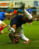 Fotball<br /> Premier League England 2004/2005<br /> 18.10.2004<br /> Foto: BPI/Digitalsport<br /> NORWAY ONLY<br /> <br /> Portsmouth v Tottenham Hotspur<br /> <br /> Jermaine Defoe of Tottenham tumbles in the box