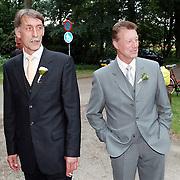 Huwelijk Sander Westerveld en judith Ardesch Denekamp, wederwijdse vaders