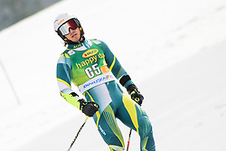 March 9, 2019 - Kranjska Gora, Kranjska Gora, Slovenia - Harry Laidlaw of Australia in action during Audi FIS Ski World Cup Vitranc on March 8, 2019 in Kranjska Gora, Slovenia. (Credit Image: © Rok Rakun/Pacific Press via ZUMA Wire)