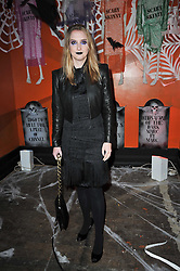 DAISY DE VILLENEUVE at the 3rd annual Browns Focus Halloween Party held at the Shepherd's Bush Pavilion, London W12 on 30th October 2009.
