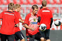 09.08.2011, Wörthersee-Arena, Klagenfurt, AUT, OEFB Training, im Bild Florian Klein (AUT) // during a Trainingssession of the Nationalteam from Austria, W?rthersee Arena, Klagenfurt, 2010-08-09 , EXPA Pictures © 2011, PhotoCredit: EXPA/ O. Hoeher