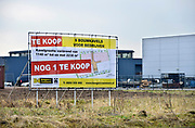 Nederland, Leuth, 17-2-2017Bouwkavel, bouwgrond te koop bij Velp. Verkoop via een makelaarskantoor. De bouwgrond is gelegen op een bedrijventerrein, industrieterrein en is bedoeld voor een kantoor of bedrijfspand. Foto: Flip Franssen