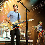 COLUMBIA, MD - SEPTEMBER 25th, 2010:  Jimmy Eat World played hits from their Bleed American album on the Pavilion Stage at the  2010 Virgin Mobile FreeFest at Merriweather Post Pavilion. (Photo by Kyle Gustafson/For The Washington Post)
