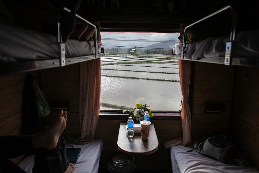 Danang to Saigon on the reunification railway.