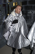 Doug Hughes, Opening of the Absolut Icebar. Heddon St. London. 29 September 2005. ONE TIME USE ONLY - DO NOT ARCHIVE © Copyright Photograph by Dafydd Jones 66 Stockwell Park Rd. London SW9 0DA Tel 020 7733 0108 www.dafjones.com