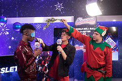 Dalton Harris (left) during day one of Capital's Jingle Bell Ball with Coca-Cola at London's O2 Arena.