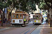 Cable Cars, Powell Street, San Francisco, California, USA, 201304131317<br /> <br /> Copyright Image from Victor Patterson, 54 Dorchester Park, Belfast, UK, BT9 6RJ<br /> <br /> Tel: +44 28 9066 1296<br /> Mob: +44 7802 353836<br /> Voicemail +44 20 8816 7153<br /> Skype: victorpattersonbelfast<br /> Email: victorpatterson@me.com<br /> Email: victorpatterson@ireland.com (back-up)<br /> <br /> IMPORTANT: If you wish to use this image or any other of my images please go to www.victorpatterson.com and click on the Terms & Conditions. Then contact me by email or phone with the reference number(s) of the image(s) concerned.