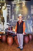 Taïwan, district  de Hsinchu, maison de thé King Tai Tea, monsieur Lo Chi-Chuan // Taiwan, Hsinchu county, King Tai tea teahouse, mister Lo Chi-Chuan