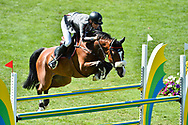 Peder FREDRICSON (SWE) riding HANSSON WL (SWB) during the Prix Groupe Barriere Competition of the International Show Jumping of La Baule 2018 (Jumping International de la Baule), on May 19, 2018 in La Baule, France - Photo Christophe Bricot / ProSportsImages / DPPI