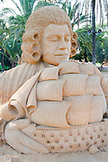 Gulliver's Travels Sand Sculpture