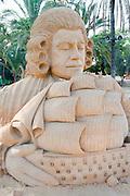 Gulliver's Travels Sand Sculpture