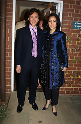 ANDY & PATTI WONG at the Cartier Chelsea Flower Show dinat the annual Cartier Flower Show Diner held at The Physics Garden, Chelsea, London on 23rd May 2005.<br /><br />NON EXCLUSIVE - WORLD RIGHTS