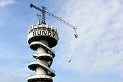 Nederland, Scheveningen, 28-10-2012 De pier , zeepier van de badplaats Scheveningen. Vanaf de toren kon men Bungy jumpen. Foto: Flip Franssen/Hollandse Hoogte