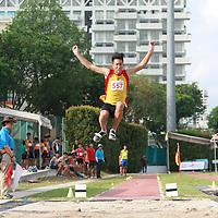 B Div Boys Long Jump