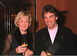 MR & MRS NIGEL WRAY he owns Saracens Rugby Club, at a dinner in London on 5th November 1998.MLR 19