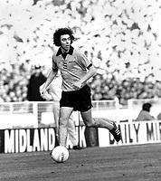 Geoff Palmer - Wolverhampton Wanderers. Wolverhampton Wanderers v Manchester City, League Cup Final 2/3/74. Credit: Colorsport.
