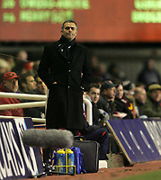 Photo: Lee Earle.<br /> Arsenal v Chelsea. The Barclays Premiership. 18/12/2005. Chelsea manager Jose Mourinho