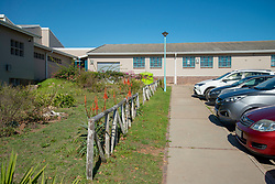 The Stellenzicht Secondary School, in Jamestown, Stellenbosch, remained closed on Monday, June 1st, 2020, the day the South African government had originally said schools would open for grade 7 and grade 12 learners. Many schools in the Western Cape opened their doors to students on Monday, despite the national government's last minute delay of the school start to June 8, for higher COVID-19 readiness. The province is now facing legal action from the SA Human Rights Commission for the decision to open schools on June 1st. PHOTO: EVA-LOTTA JANSSON