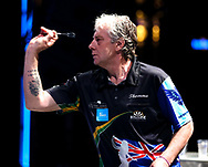 Justin Thompson during the BDO World Professional Championships at the O2 Arena, London, United Kingdom on 5 January 2020.