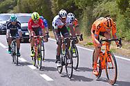 Marcin BIALOBLOCKI (POL), Daniel TEKLEHAIMANOT (ERI), Eugert ZHUPA (ALB), Cesare BENEDETTI (ITA), during the 100th Tour of Italy 2017, Giro d'Italia, Stage 1, Alghero - Olbia (206km), on May 5, in Sardegna, Italy - Photo Tim De Waele / ProSportsImages / DPPI