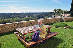 Tourist, Vezenobres, Gard, Southern France 2021 MR