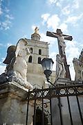Pausenpaleis in Avignon, Frankrijk -Palais des Papes (Papal Palais) in Avignon, France