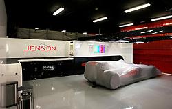 FORMEL 1: GP von Spanien, Barcelona, 08.05.2010<br />Garage von McLaren, Illustration, Karosserie, Bolide, Rennwagen<br />© pixathlon