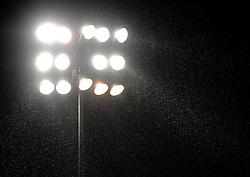 Rain comes down at St Andrews - Photo mandatory by-line: Joe Meredith/JMP - Tel: Mobile: 07966 386802 14/01/2014 - SPORT - FOOTBALL - St Andrew's Stadium - Birmingham - Birmingham City v Bristol Rovers - FA Cup - Third Round