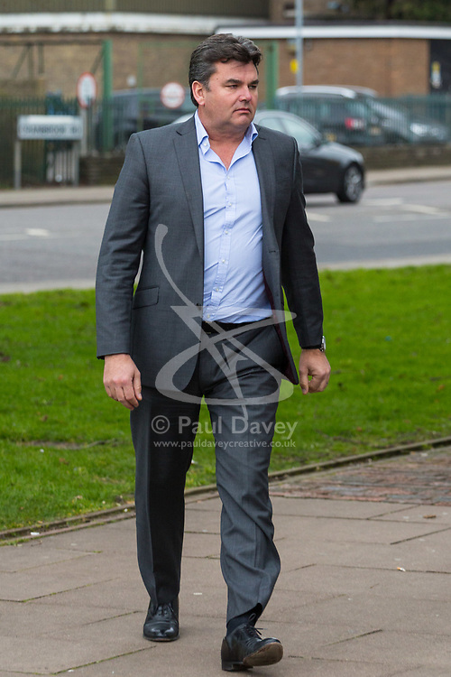 Ex owner of BHS Dominic Chappell who was found guilty of three charges of failing to provide information about the firm's pension schemes to investigators after it collapsed into administration with the loss of thousands of jobs. Barkingside Magistrate's Court, London, February 23 2018.