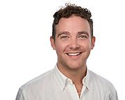 Jacob Gorman poses for a headshot for Nova Partners at SOSKIphoto in Hayward, California, on June 17, 2021. (Stan Olszewski/SOSKIphoto)