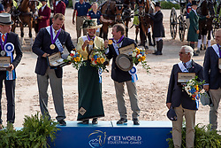 Team USA, Fairclough James, Wrigley-Miller Misdee, Weber Chester, <br /> World Equestrian Games - Tryon 2018<br /> © Hippo Foto - Dirk Caremans<br /> 23/09/2018
