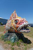 Washed Ashore sculpture Bandon Oregon
