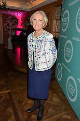 MARY BERRY at the 2016 Fortnum & Mason Food & Drink Awards held at Fortnum & Mason, Piccadilly, London on 12th May 2016.
