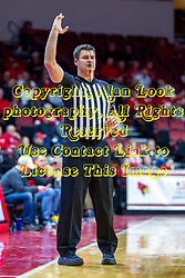NORMAL, IL - January 29: Jeff Campbell during a college basketball game between the ISU Redbirds and the University of Evansville Purple Aces on January 29 2020 at Redbird Arena in Normal, IL. (Photo by Alan Look)