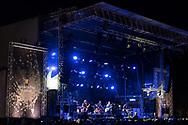 British singer-songwriter Fin Greenall aka Fink at Haldern Pop Festival