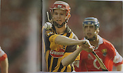 Kilkenny's Tommy Walsh in the 2003 final.