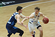 Basketball: Deutschland, 1. Bundesliga, Hamburg Towers -  Alba Berlin, Hamburg, 23.03.2021<br /> Justus Hollatzs (Towers, r.)<br /> © Torsten Helmke