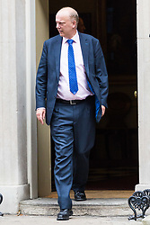 London, October 10 2017. Transport Secretary Chris Grayling attends the UK cabinet meeting at Downing Street. © Paul Davey
